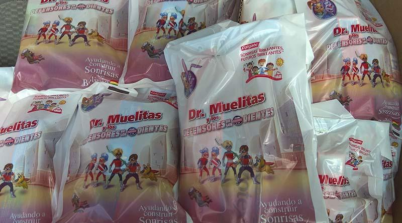 GAMEA y Colgate distribuyeron paquetes Dr. Muelitas