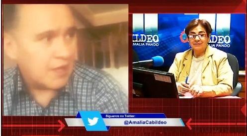 León esta mañana en el programa de Amalia Pando