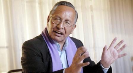 El intelectual aymara fue vicepresidente entre 1993 y 1997